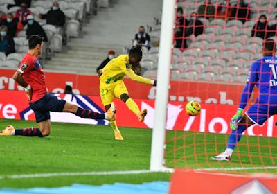 ملخص واهداف مباراة ليل ونانت (2-0) الدوري الفرنسي