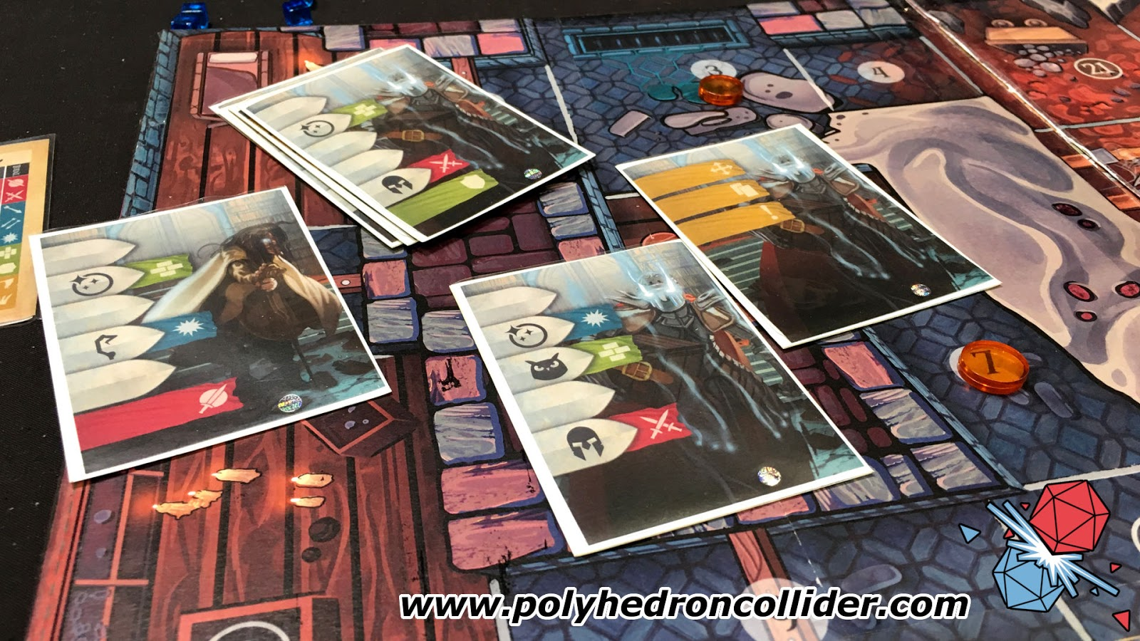 Martin Wallace wildlands preview action cards