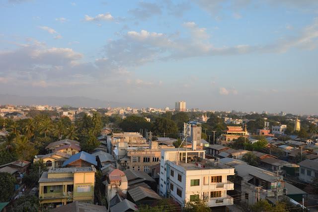 Rooftop à Mandalay