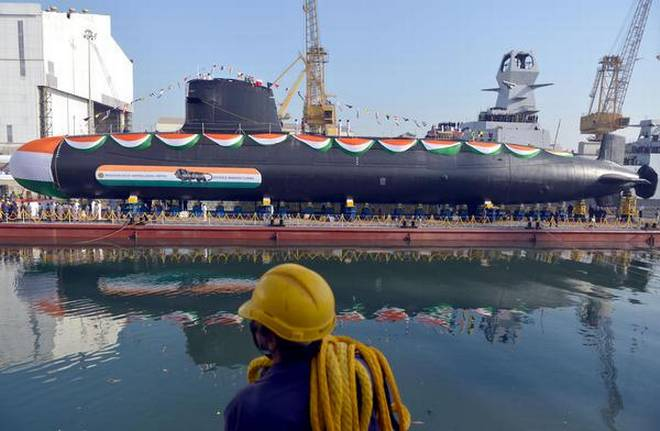 Submarine 'KHANDERI', Daily Current Affairs