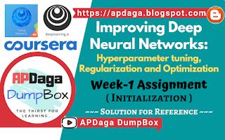Improving Deep Neural Networks Week-1 (Initialization)