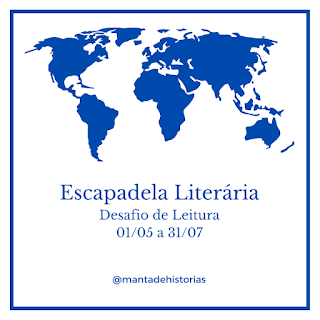 Escapadela Literária 2021 - Desafio de Leitura