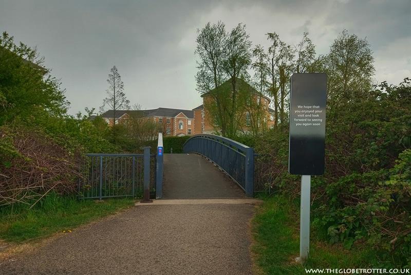 Footbridge to Meridian way