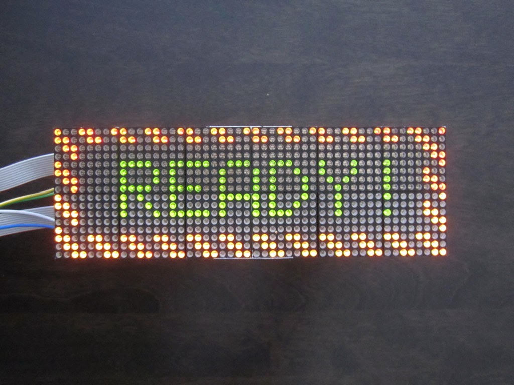 Mark Wylie S Blog Led Matrix Display And Controller