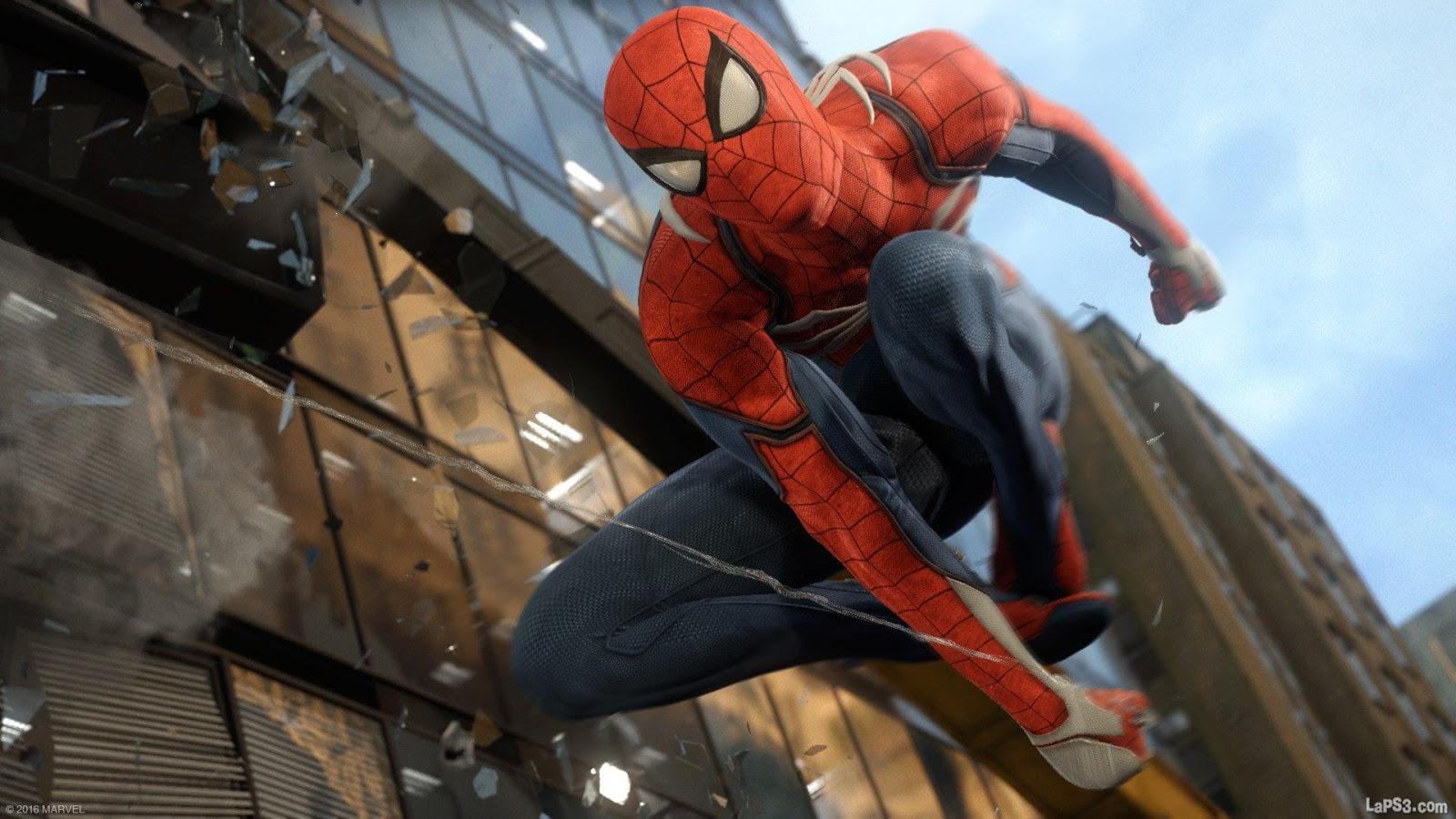 El mapa de Spider-Man será mucho más grande que el visto en Sunset Overdrive
