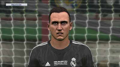 PES 2016 Keylor Navas Face without beard by ser_rm