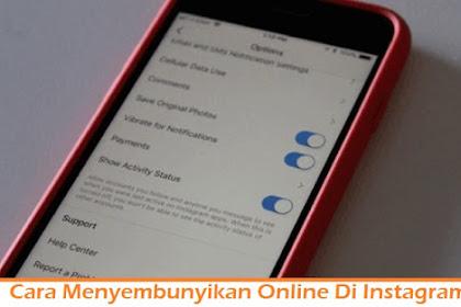 Cara Menyembunyikan Online Di Instagram DM dan Nonaktifkan Last Seen IG