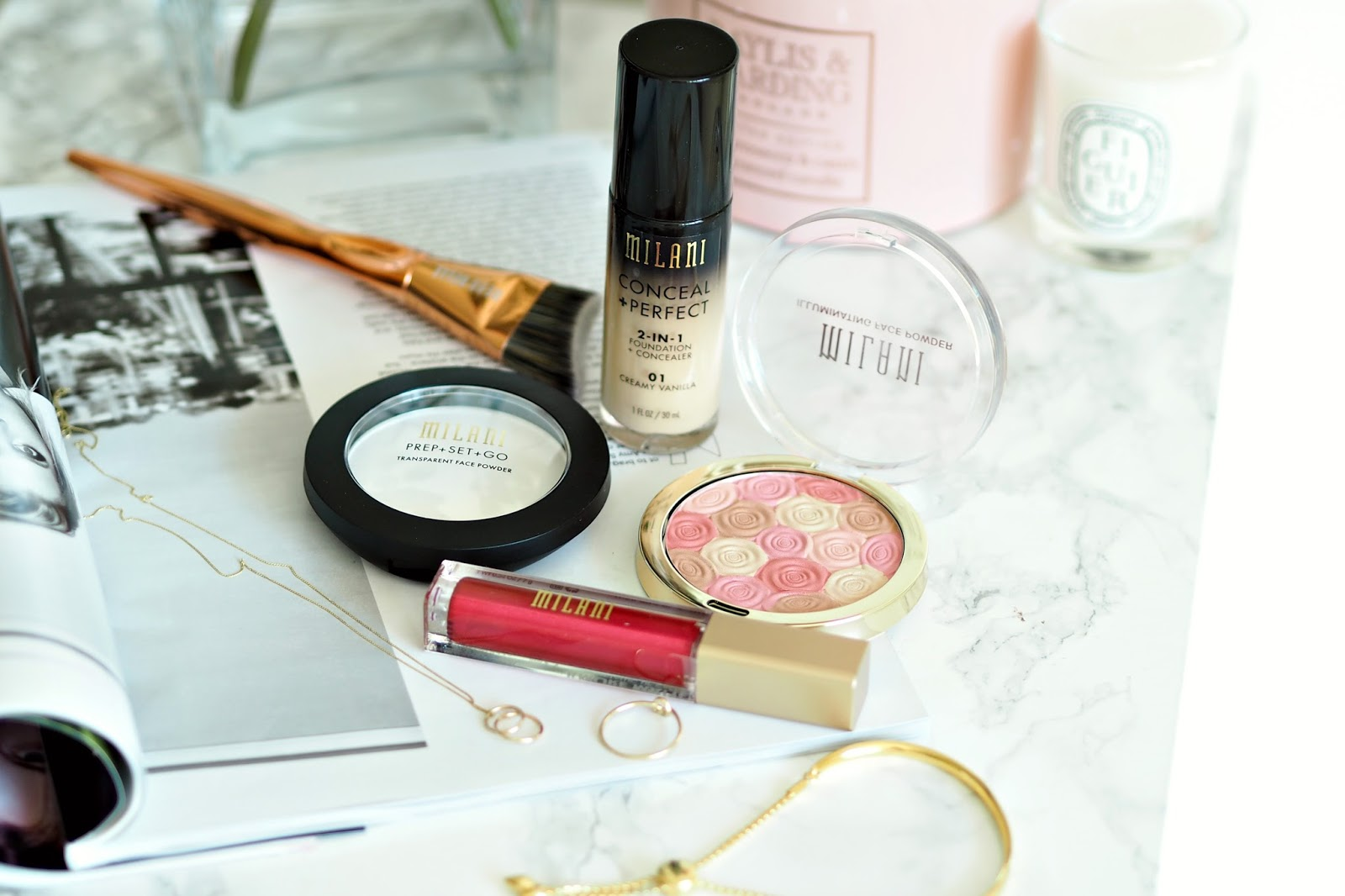My thoughts on Milani makeup, review