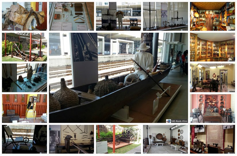 Museu de Artes e Ofícios de BH - o trabalho no Brasil