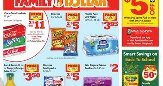 Family Dollar Weekly Ad This Week July 7 - 13, 2019 - Weekly