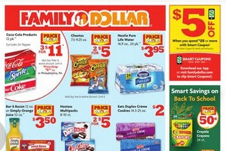 Family Dollar Weekly Ad This Week July 7 - 13, 2019