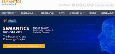 SEMANTiCS Karlsruhe 2019 conference