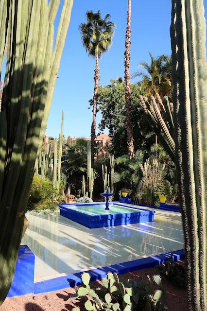 jardin majorelle marrakech a golpe de objetivo