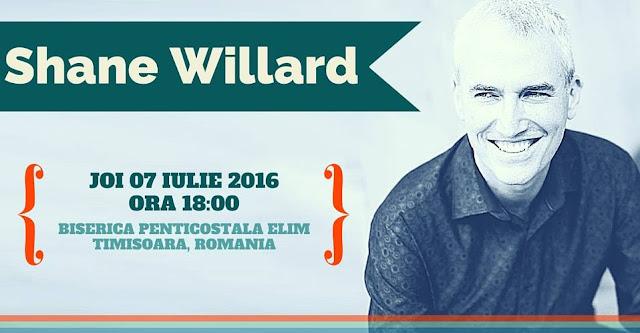 Shane Willard la Elim Timisoara - 07 iulie 2016