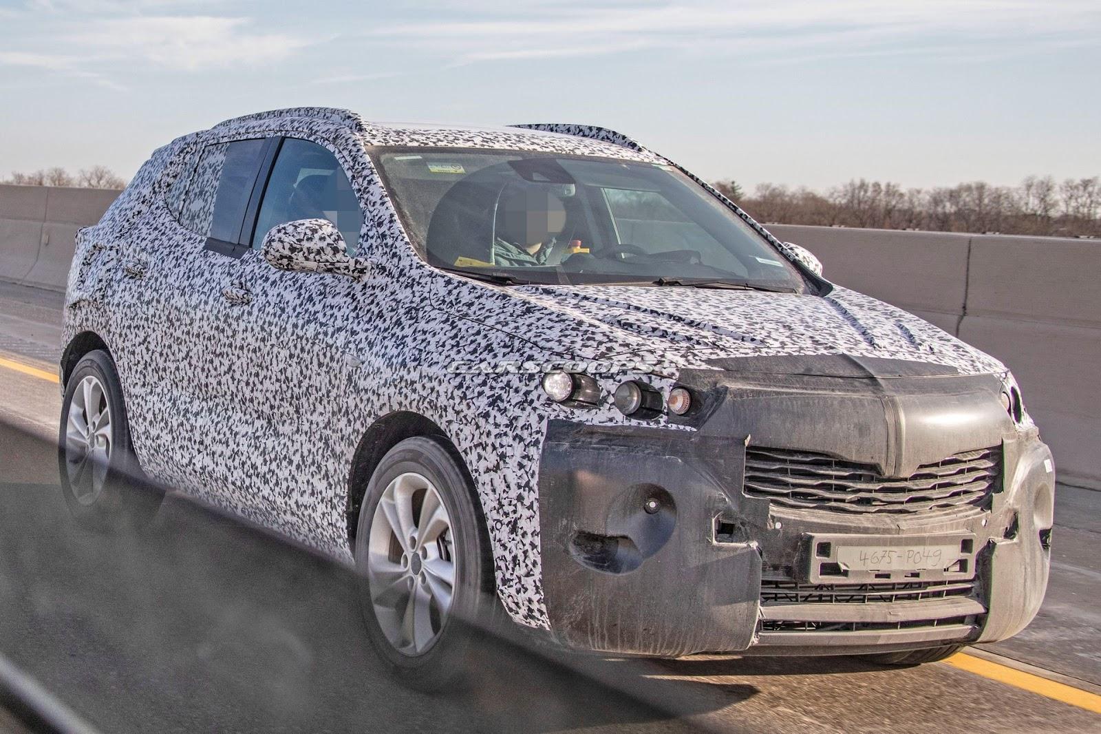 New Opel Mokka X Spy Shot Ms Blog