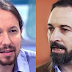Santiago Abascal muy enfadado tras un comentario de Pablo Iglesias en televisión