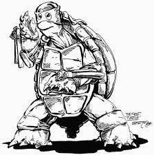 Primera Tortuga Ninja 1983