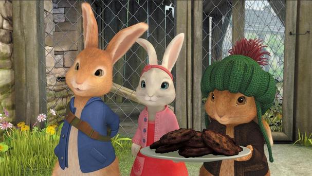 Peter Rabbit Nickelodeon animatedfilmreviews.filminspector.com