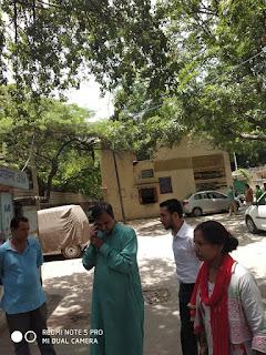 राशन कार्यालय के स्टाफ की शह पर पंकज पुष्कर विधायक तिमारपुर पर हमला
