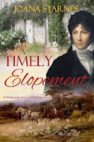 Book Cover: A Timely Elopement by Joana Starnes