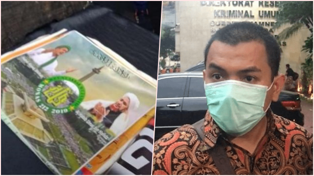 Ada Poster HRS di Konpers Terduga Teroris, Aziz: Kalau Itu Rekayasa ya Keji Sekali