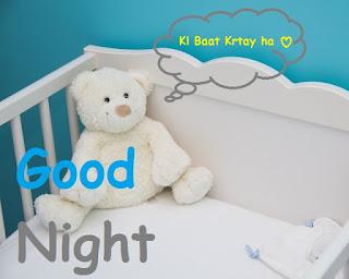 good night cute teddy images