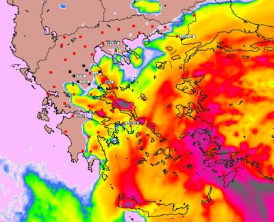 6 - Υψηλές θερμοκρασίες και επιλεκτικές βροχές την Παρασκευή