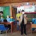 180 Panitia Dan Pengawas Pilkades di Kecamatan Bungursari Disuntik Vaksin