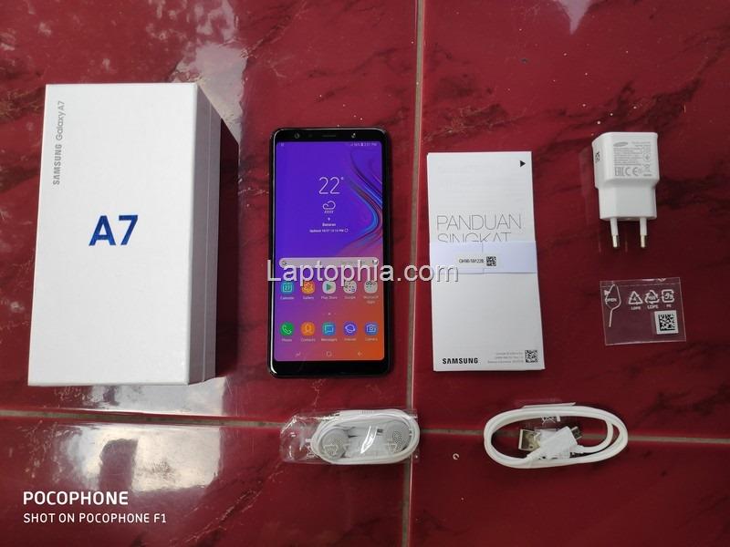 Paket Pembelian Samsung Galaxy A7 2018