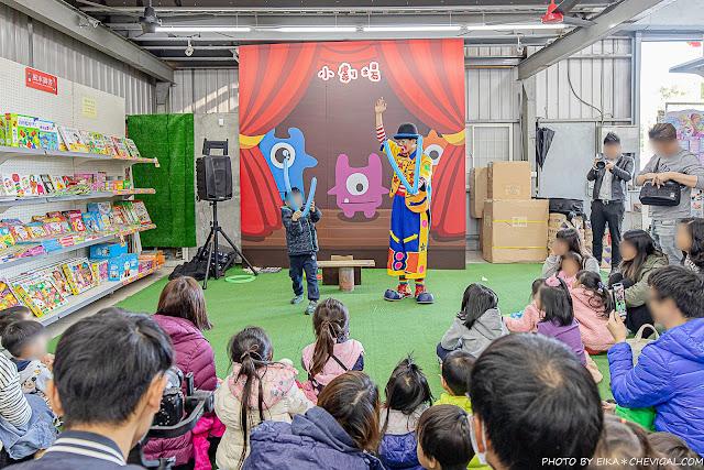 MG 6669 - 熱血採訪│台中玩具150坪批發超市人超多,限定小丑與魔術表演入場直接請你看!