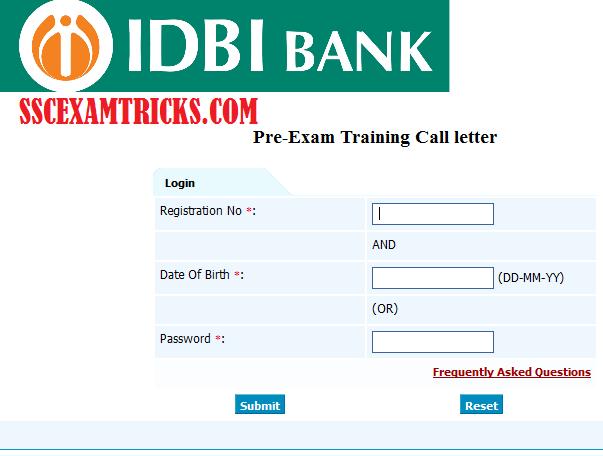idbi card login