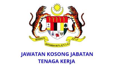 Jawatan Kosong Jabatan Tenaga Kerja 2019 (Negeri Johor)