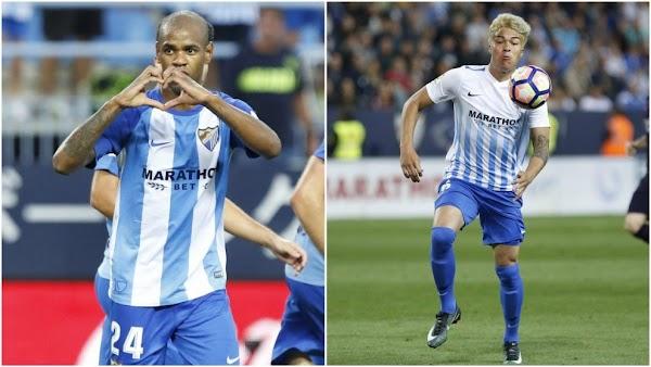 Málaga, falta juego y pegada arriba