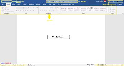 Bagian-Bagian Menu Microsoft Word