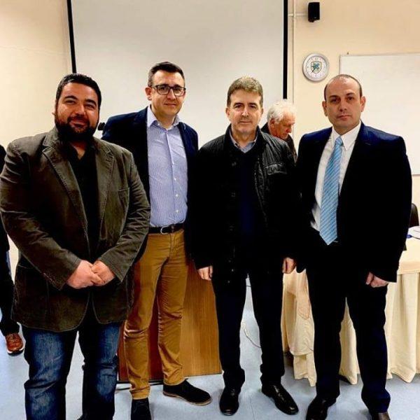 Συνάντηση της Ε.Α.Υ.Χαλκιδικής με τον Υπουργό Προστασίας του Πολίτη