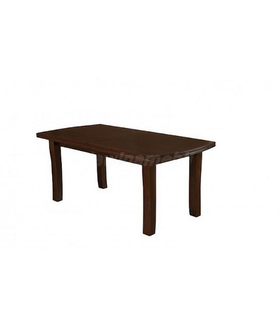 Stół do salonu z naturalnej okleiny drewnianej