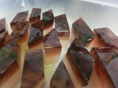 Resipi agar-agar cincau double layer