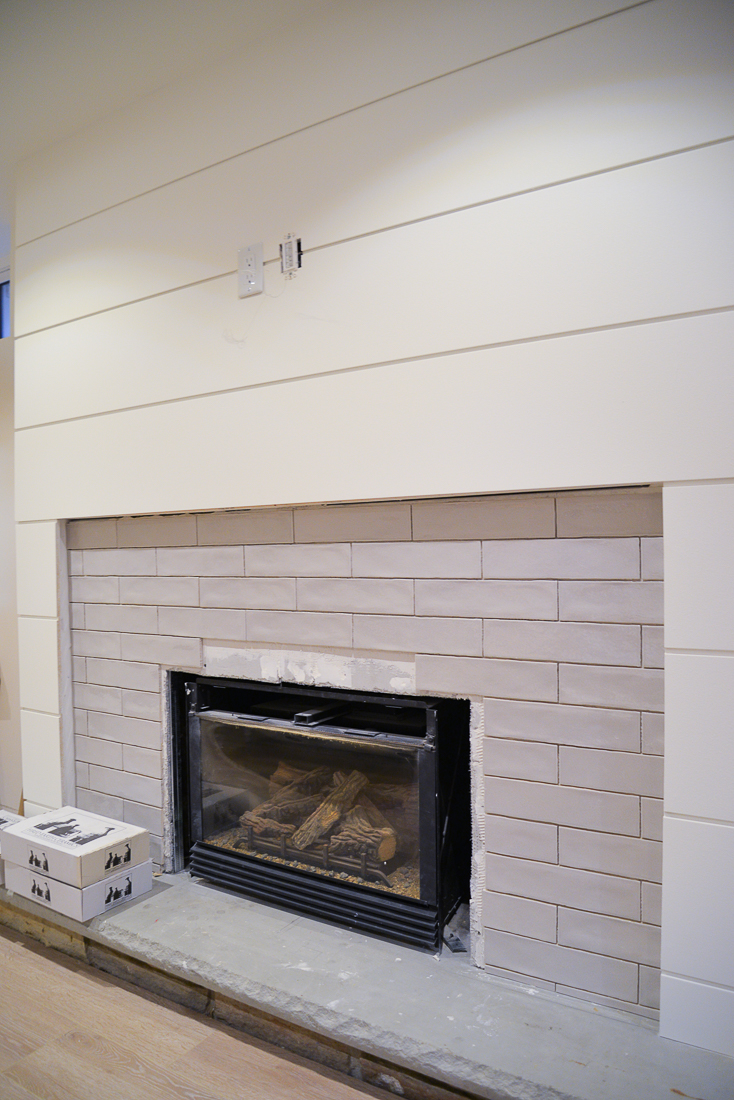 tile installation, the tile shop, fireplace tile