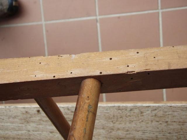 eliminar carcoma en muebles valladolid