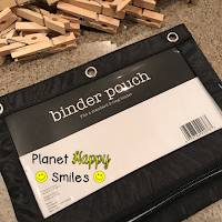 Alphabet Clips Storage, Planet Happy Smiles