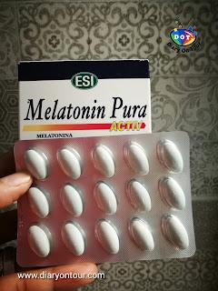 Melatonin Pura Activ, melatonin, เมลาโทนิน ช่วยให้หลับง่ายขึ้น ตัวช่วยอาการ Jet lag, diary on tour