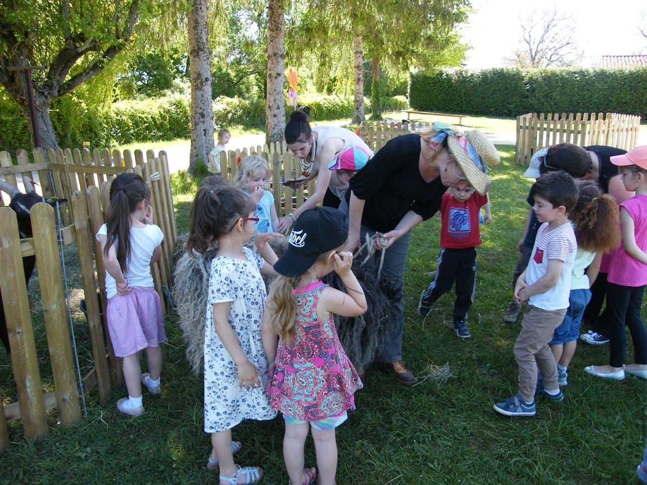 Visite avec les enfants