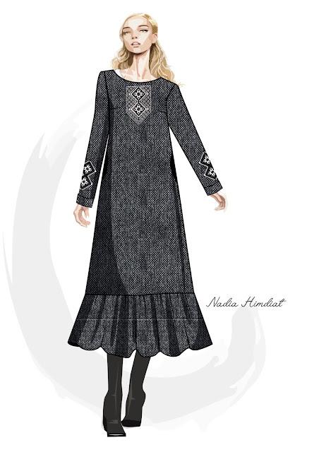 Платье. Модель PL-401