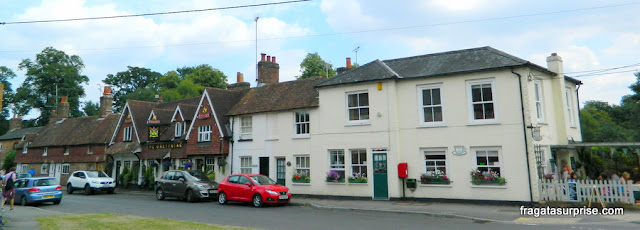 Vila de Chawton, Inglaterra, onde Jane Austen viveu