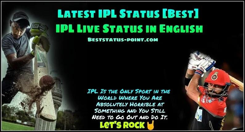 IPL Live Status in 2021