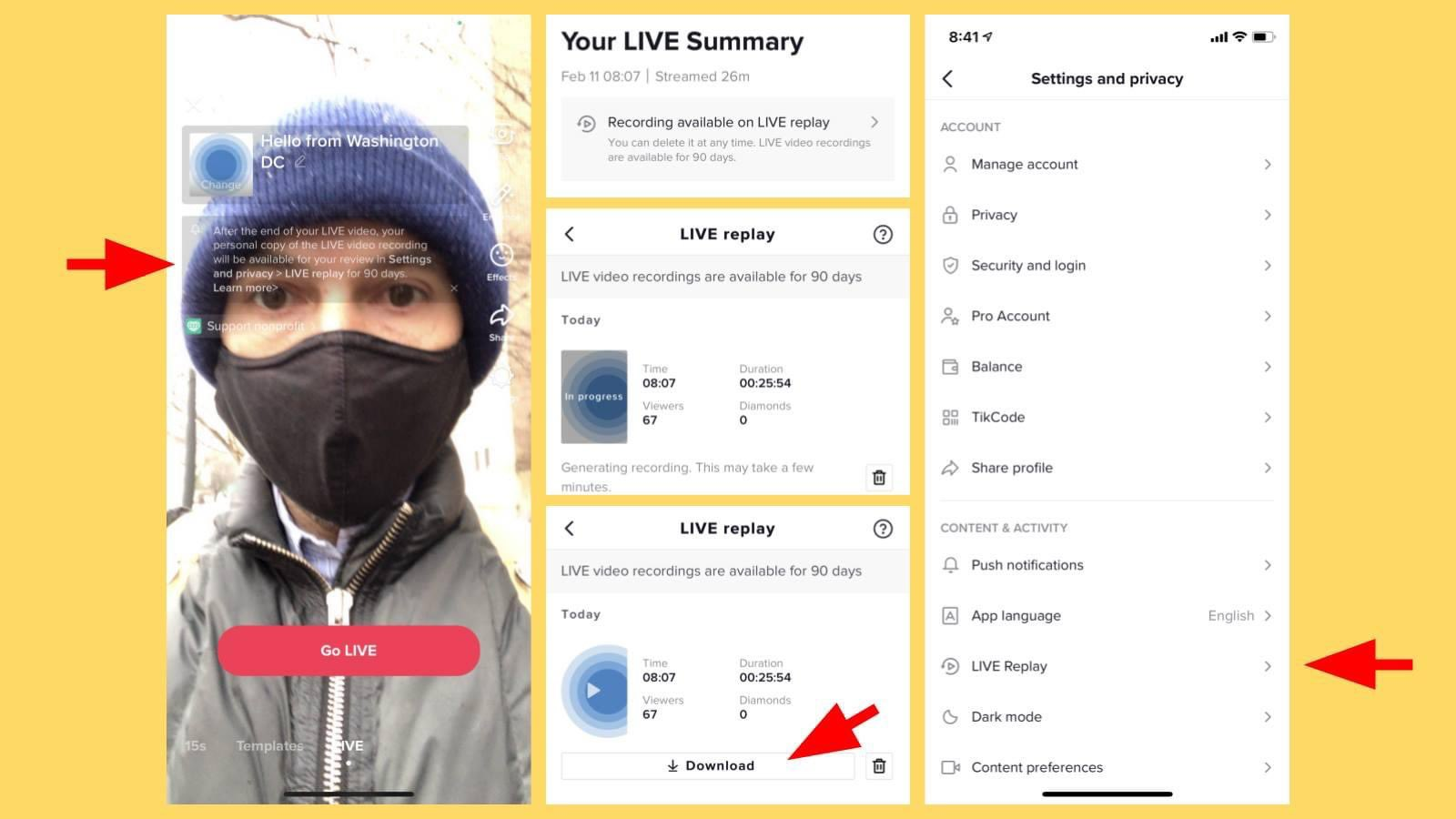 <b>TikTok</b> Adds LIVE Replay Feature, Allowing Creators To Rewatch And Download Their Own ... thumbnail
