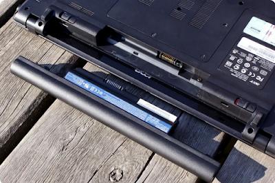 раскачка аккумулятора ноутбука