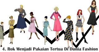 Rok Menjadi Pakaian Tertua Di Dunia Fashion merupakan salah satu fakta unik fashion wanita yang wajib kamu ketahui