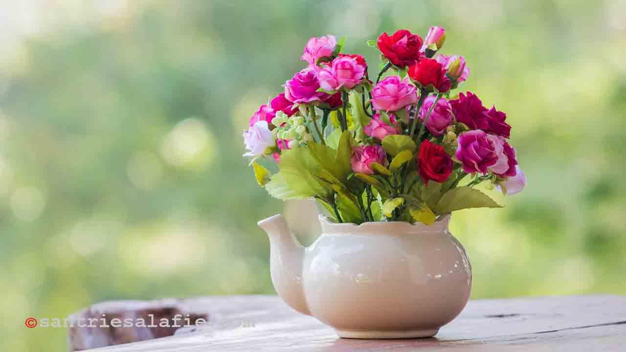 Cara Memilih Karangan Bunga Yang Baik dan Benar untuk Seseorang by Santrie Salafie