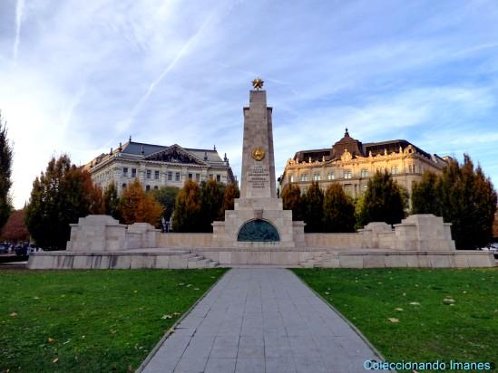 Monumento a la Ocupación Soviética en Budapest